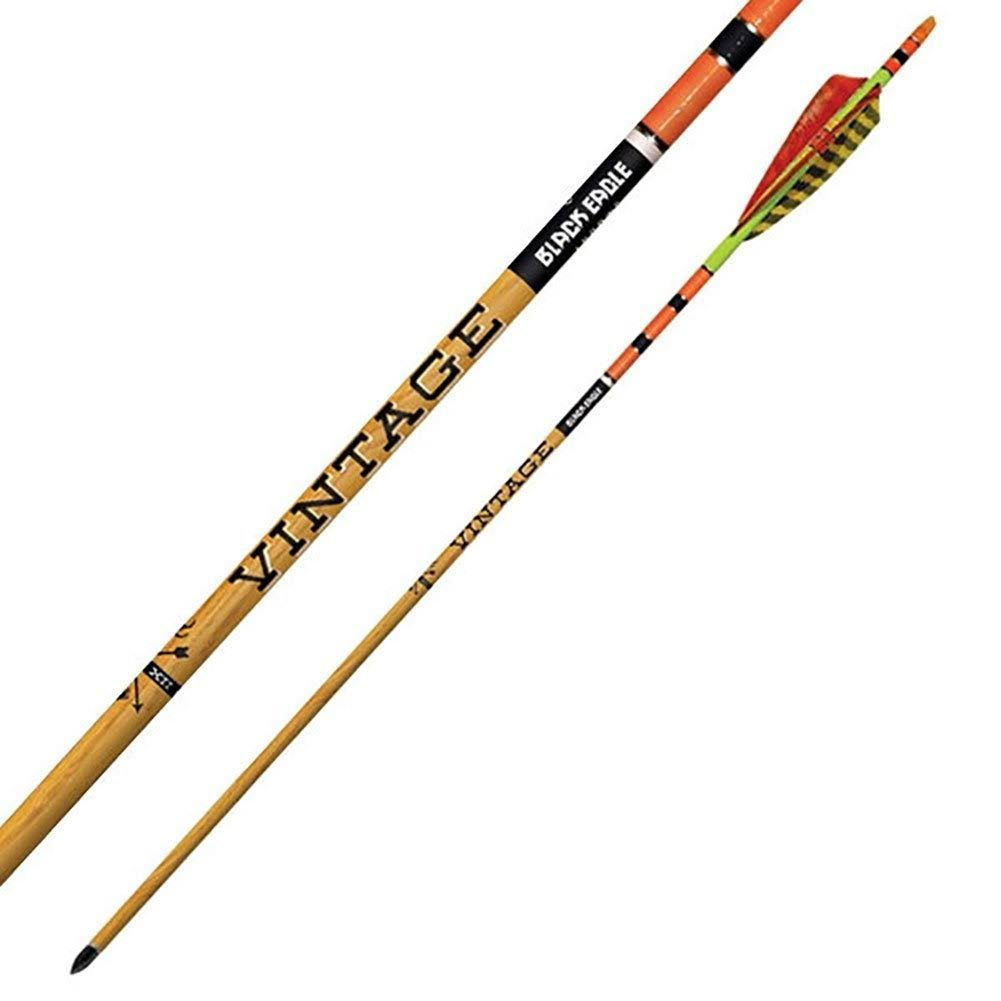 Black Eagle Vintage Arrows Yellow/Orange (6 Pack) - 600