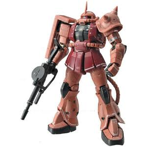 Gundam Real Grade 002 MS-06S Zaku Ii Mobile Suit Kit - 1/144 Scale