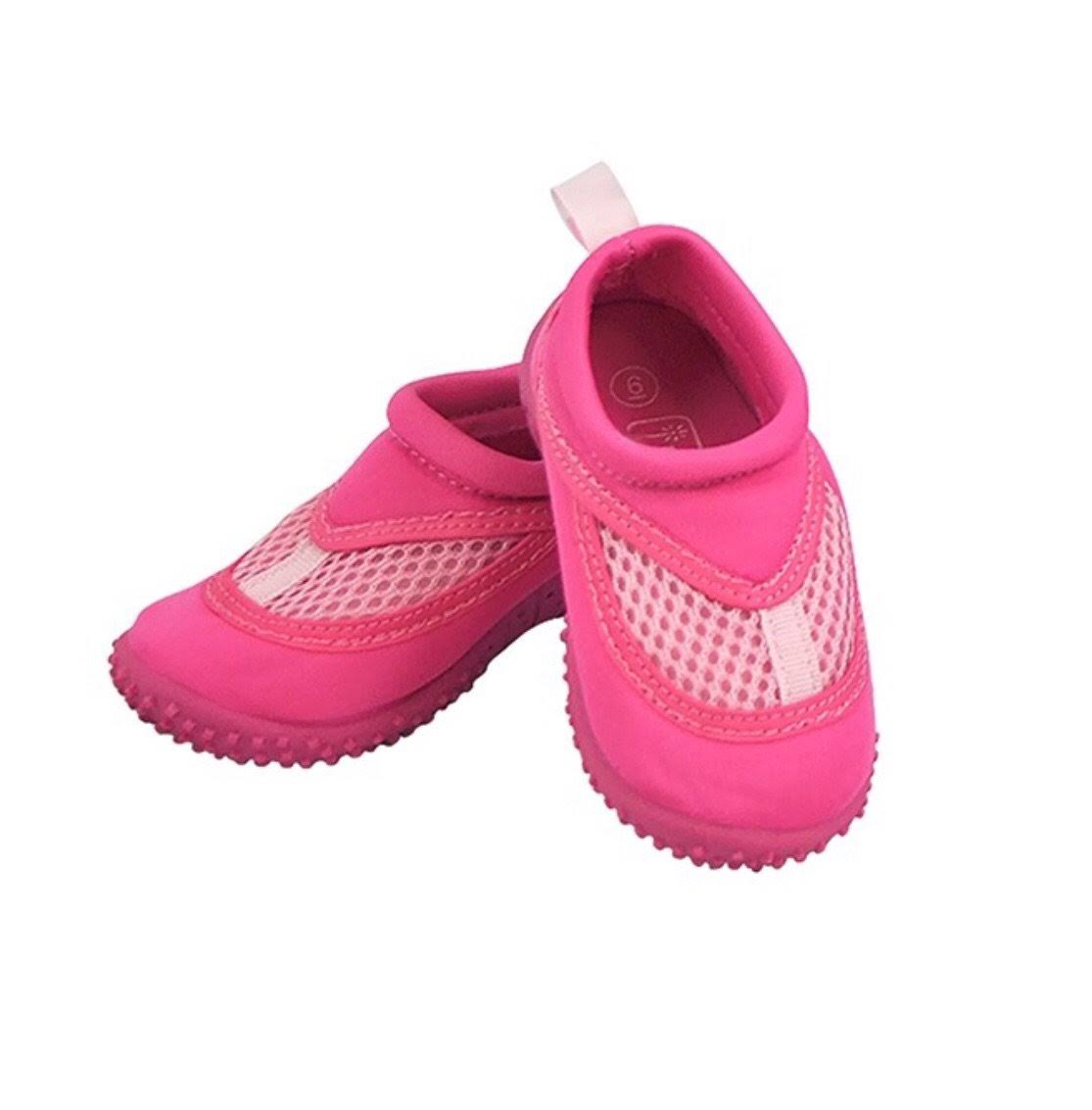 Iplay Baby Unisex Swim Shoes - Hot Pink, 4 US