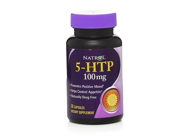Natrol 5 Htp Dietary Supplement Capsules - 100mg, 30ct