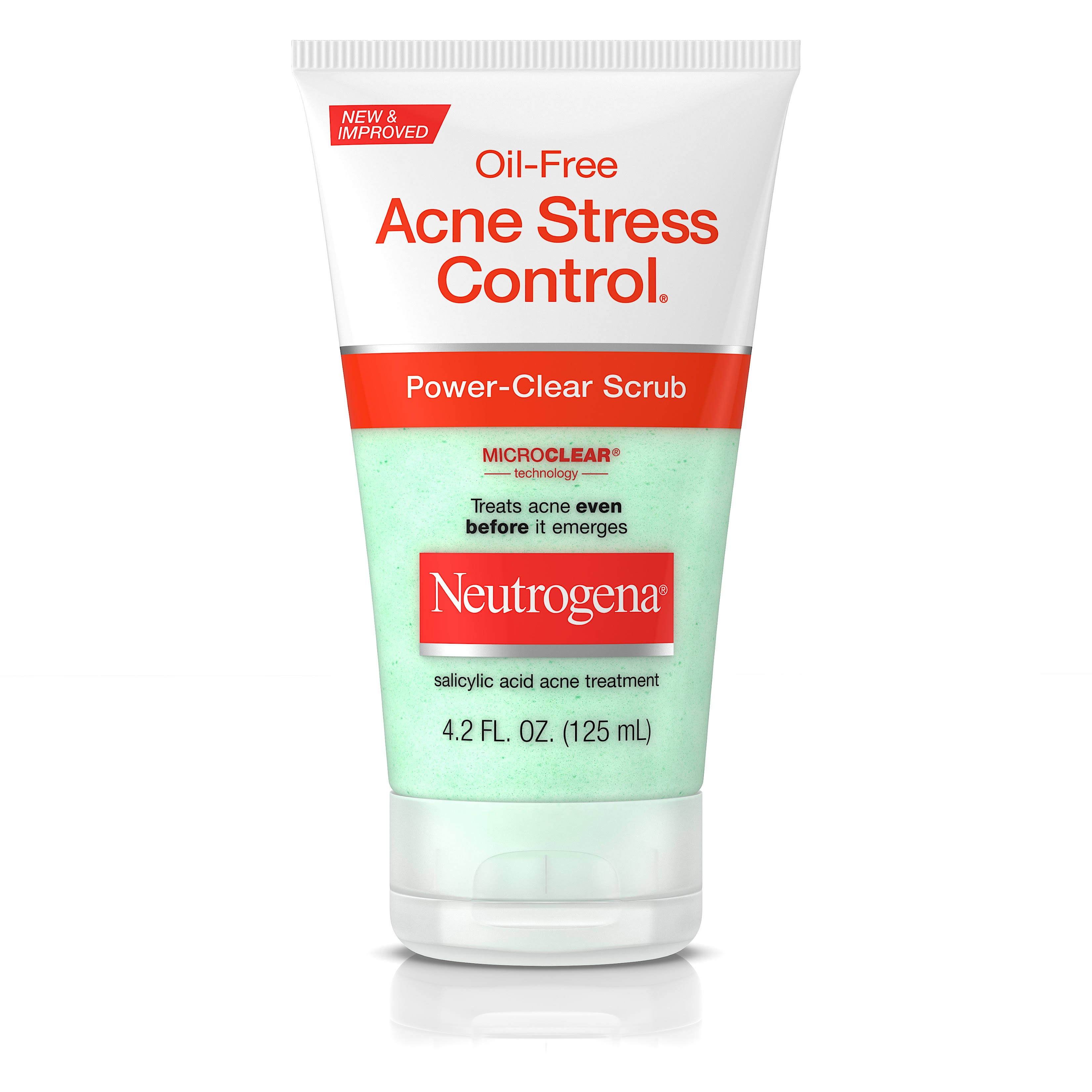 Neutrogena Acne Stress Control Power-Clear Scrub - 4.2oz