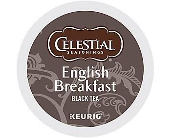 Celestial Seasonings English Breakfast Black Tea K Cups - 96ct