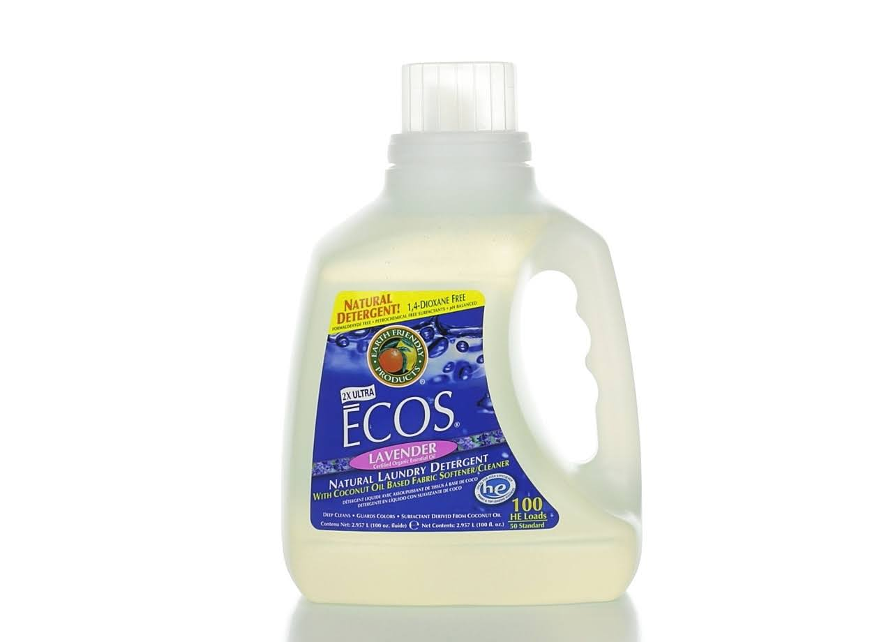 Earth Friendly Products Ecos Liquid Laundry Detergent - Lavender, 100oz
