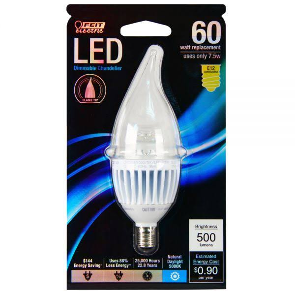 Feit Led Light Bulb 8 Watts 500 Lumens