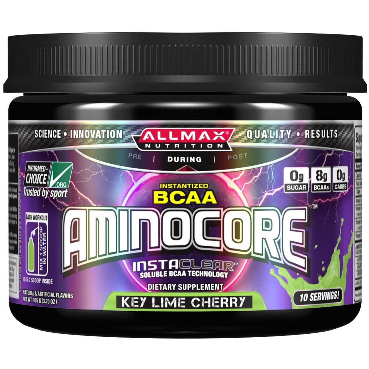 Allmax Nutrition Aminocore Supplement - Key Lime Cherry, 3.7oz
