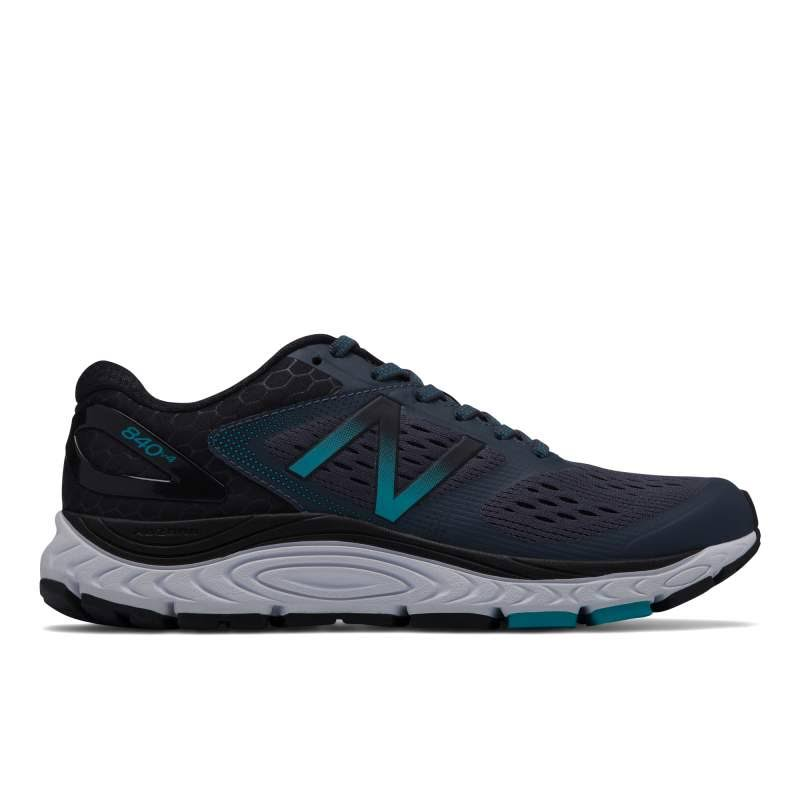 New Balance Womens 840V4 Running Shoes - Dark Grey, 9 US