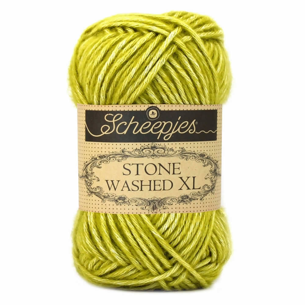 Scheepjes Stone Washed XL Yarn - 852 Lemon Quartz