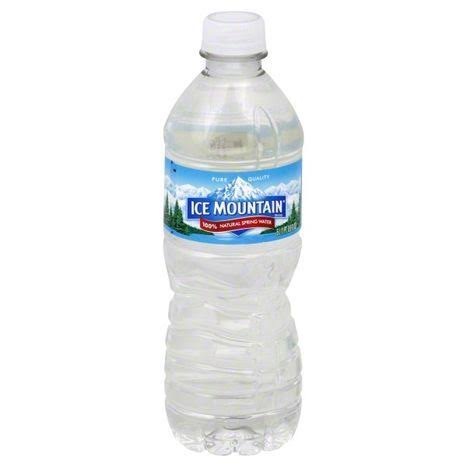 Ice Mountain Water, 100% Natural Spring - 0.5 lt