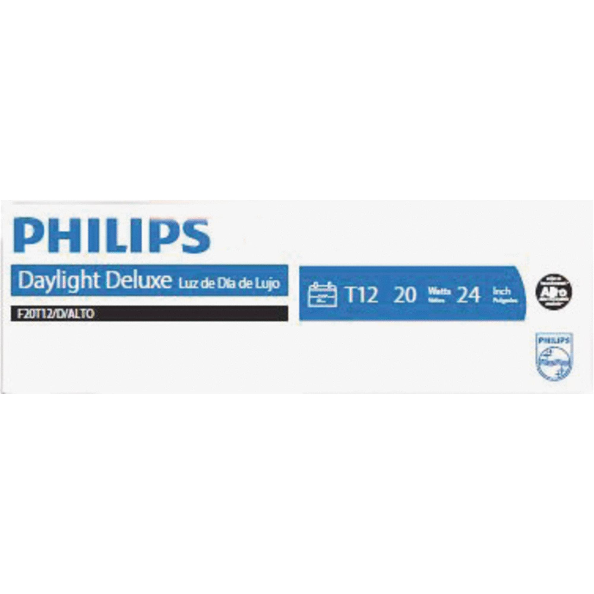 Philips Daylight Fluorescent Light Bulb - 20W, 2ft