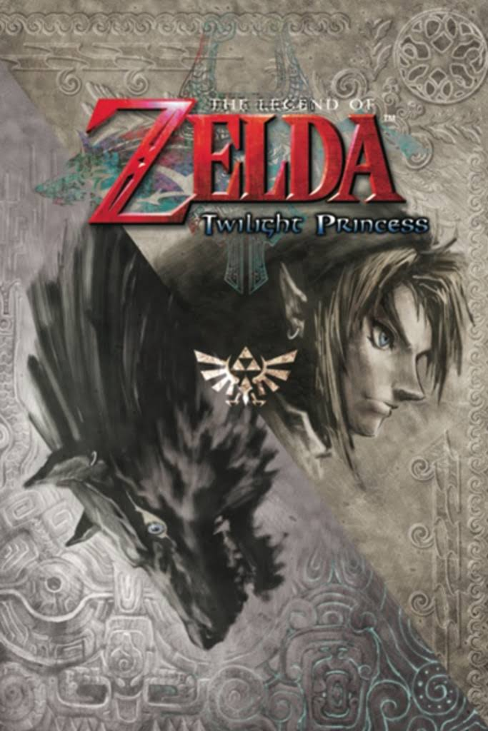The Legend of Zelda Twilight Princess Nintendo High Fantasy Video Game Series Crest Poster - 24x36 inch