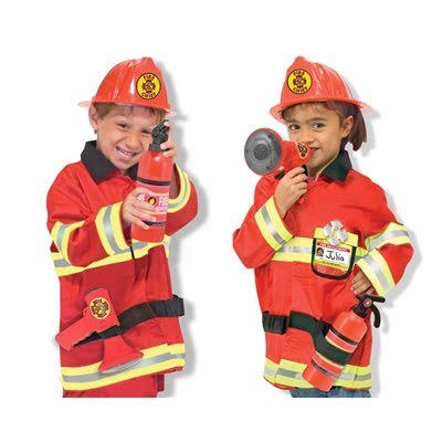 Melissa & Doug Fire Chief Costume