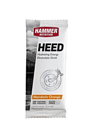 Hammer Heed Electrolyte Drink - Mandarin-Orange, 29g