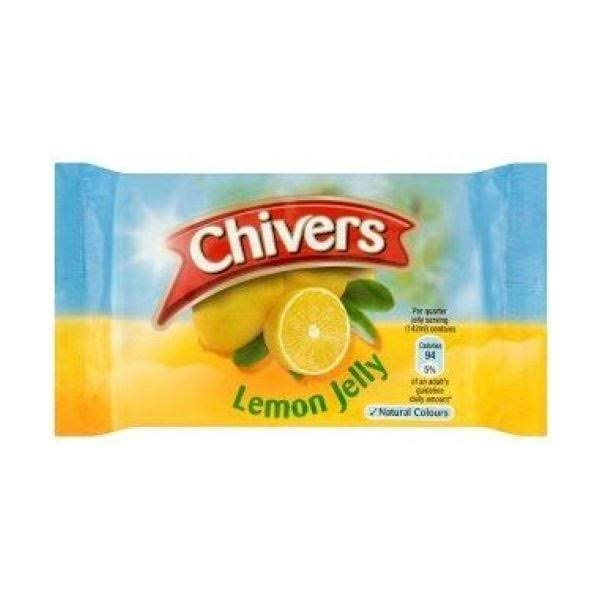 Chivers Jelly Lemon Pkt Packet 12packs