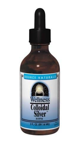 Source Naturals Wellness Colloidal Silver