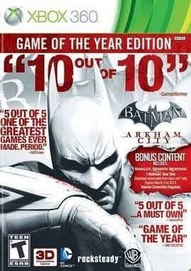 Batman: Arkham City - XBox 360