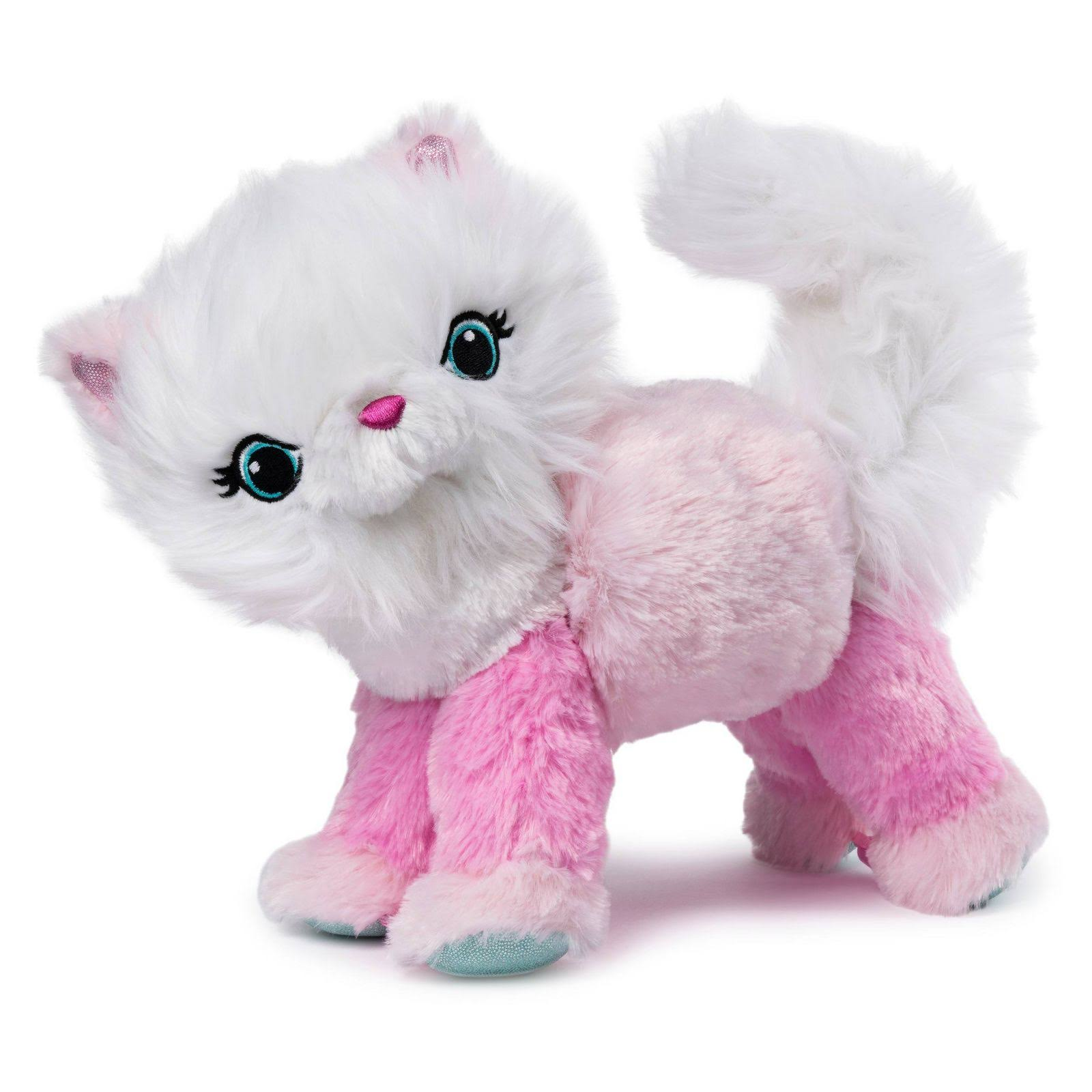 Twisty Petz Cuddlez Purrella Kitty Transforming Collectible Plush for Kids Aged 4 and Up
