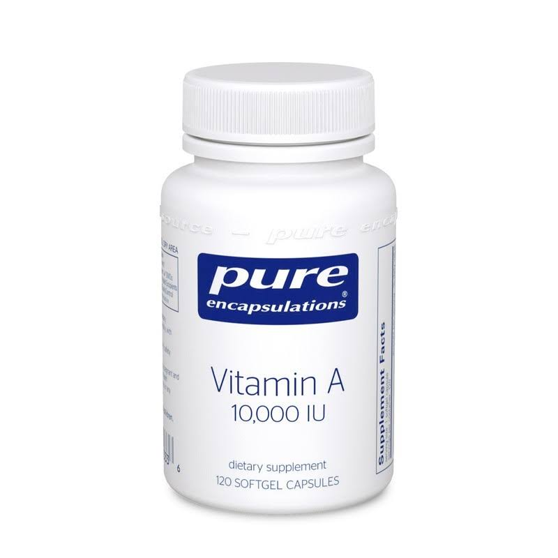 Pure Encapsulations Vitamin A - 120 Soft Gels