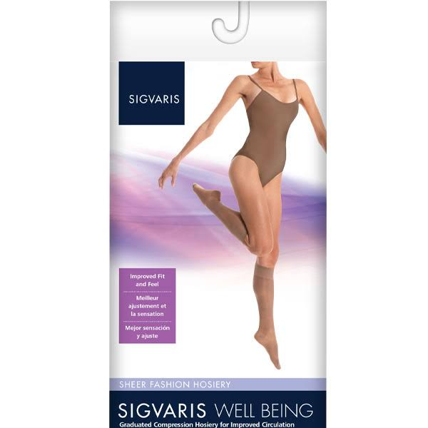 Sigvaris 120 Well Being Women's Closed Toe Knee Highs Sock
