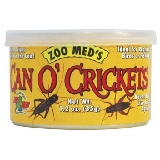 Zoo Med Can O Crickets Pet Food - 1.2oz