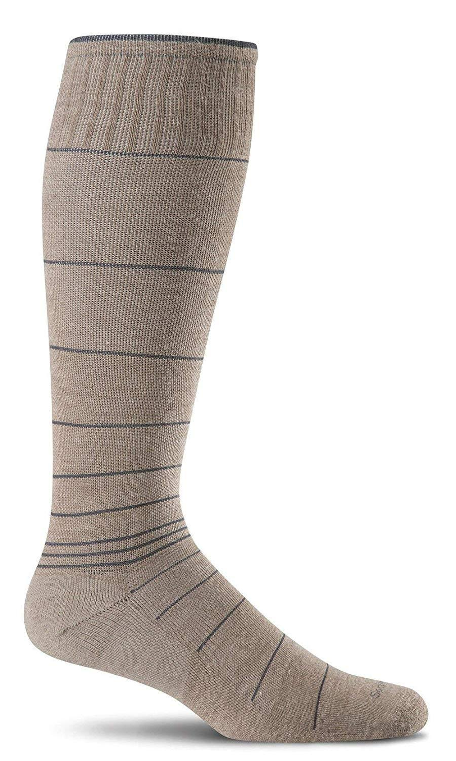 Sockwell Men's Circulator Compression Socks - Khaki, Medium/Large