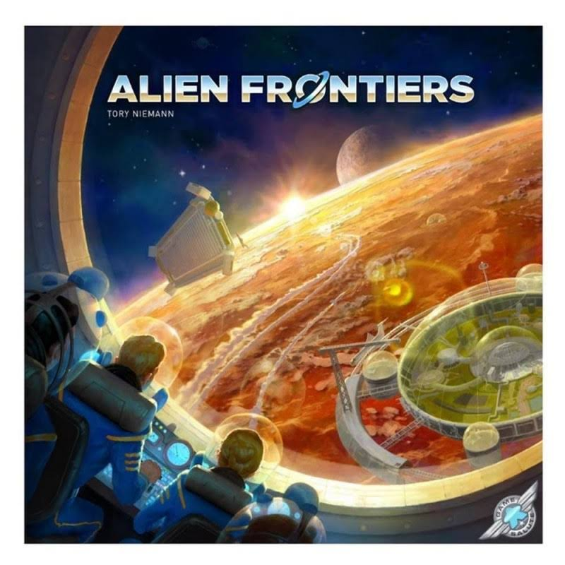 Alien Frontiers 5th Edition Sci-Fi Planet Maxwell Board Game