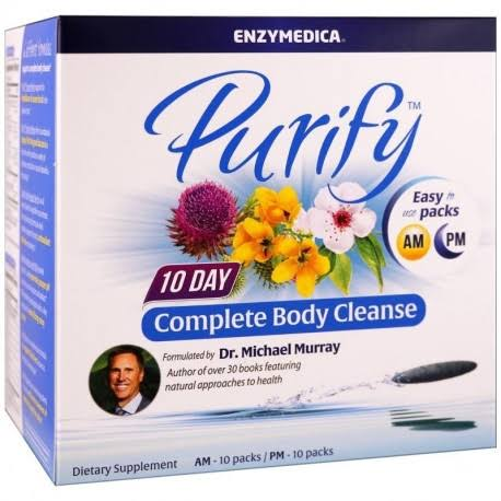 Enzymedica Purify - 10 Day Complete Body Cleanse 1 Kit