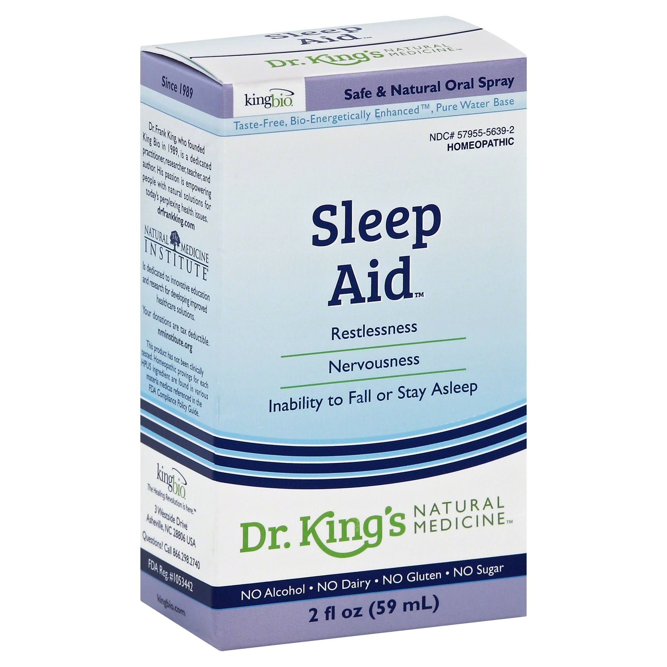 King Bio Homeopathic Sleep Aid Spray - 2oz