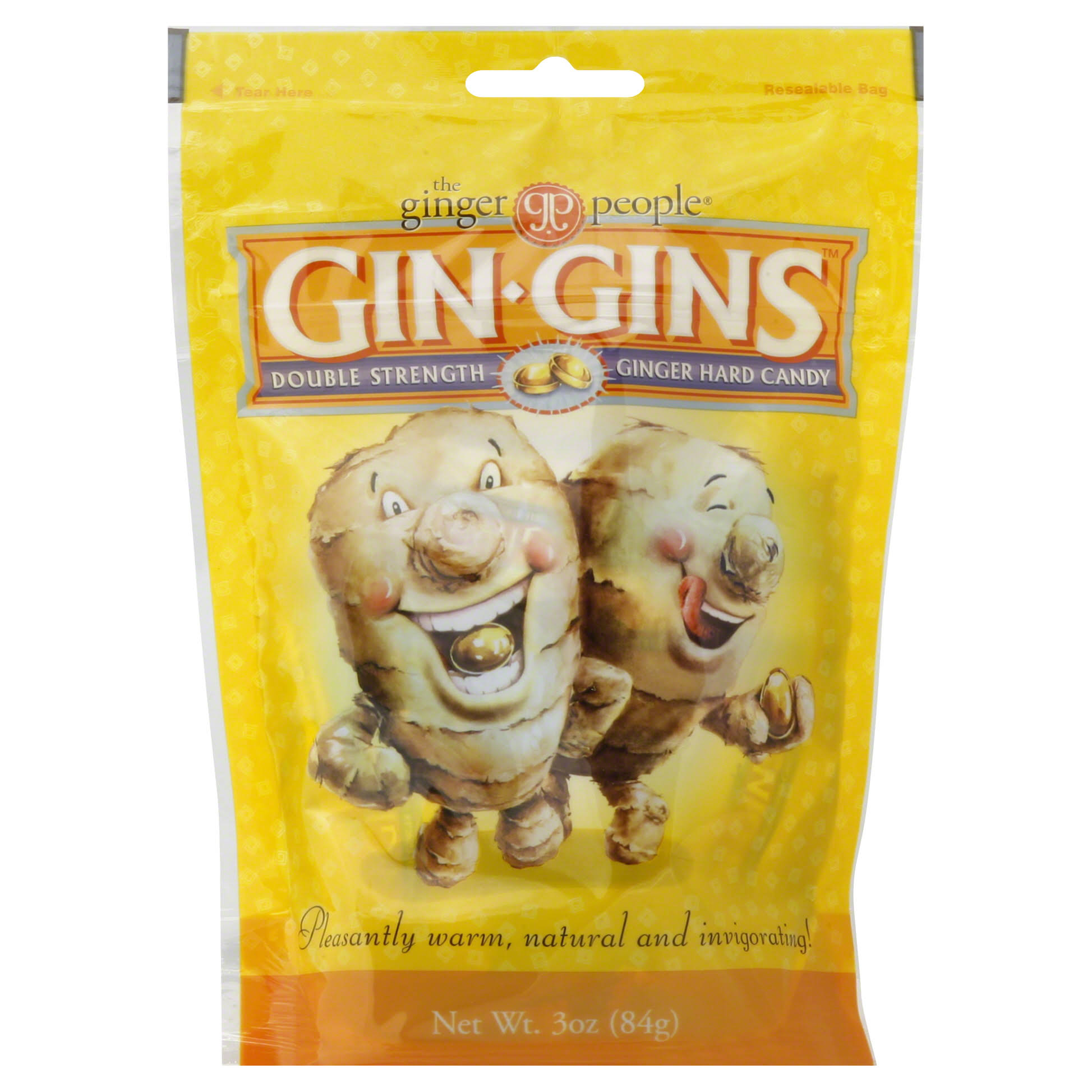 The Ginger People Gin Gins Ginger Hard Candy