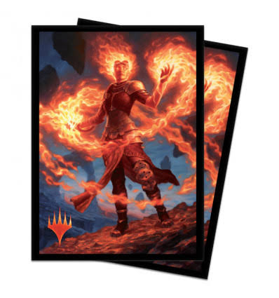Ultra Pro Magic: The Gathering M20 'chandra, Awakened Inferno' Deck Protector Sleeves (100 ct.)