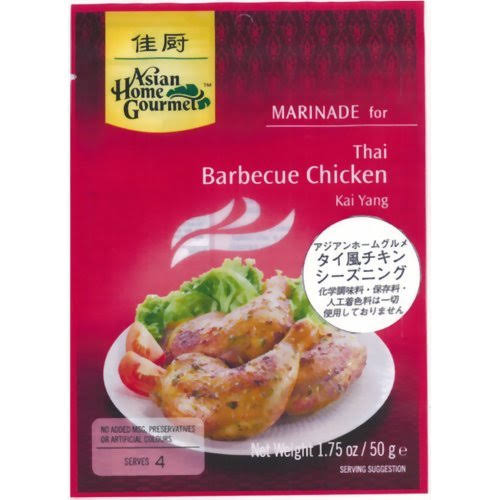 Asian Home Gourmet Marinade - for Thai BBQ Chicken, 1.75oz