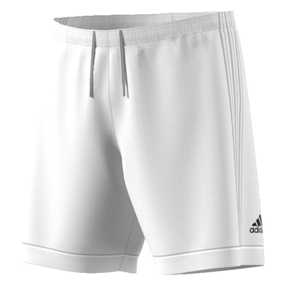 Adidas Men's Soccer Squadra 17 Shorts - White, Medium