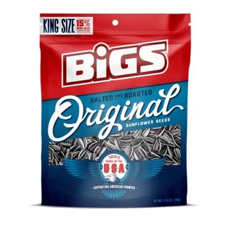 Bigs Salted & Roasted Original Sunflower Seeds - 5.35oz