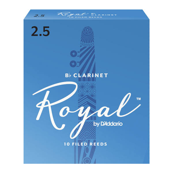 Rico Royal Bb Clarinet Reeds - 10 Reeds