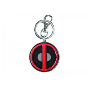 Marvel Deadpool Pewter Logo Key Ring