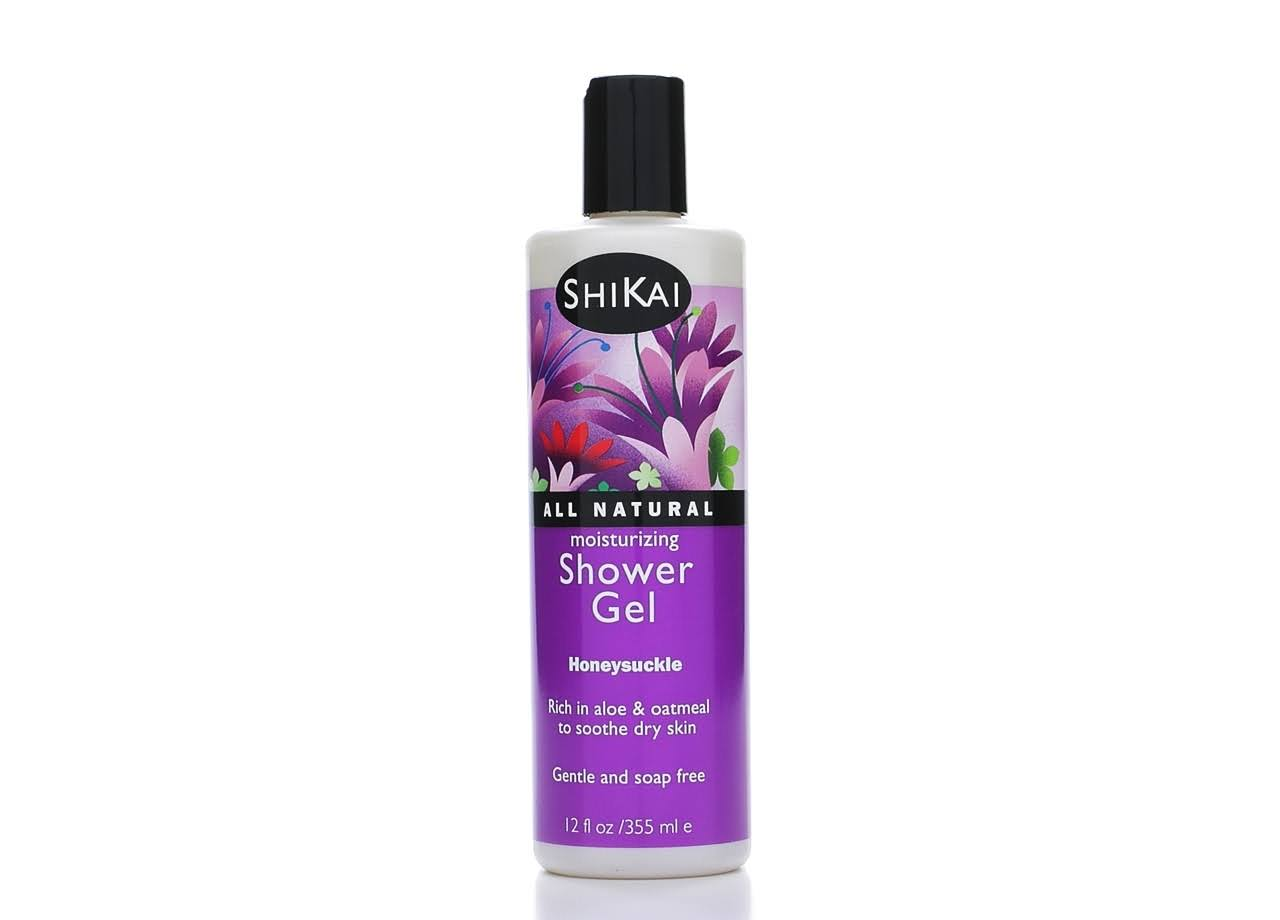ShiKai Shower Gel - Honeysuckle, 12oz
