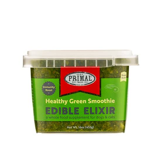 Primal Frozen Edible Elixir Healthy Green Smoothie 16 oz