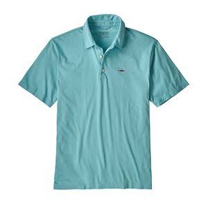 Patagonia Men's Polo - Trout Fitz Roy