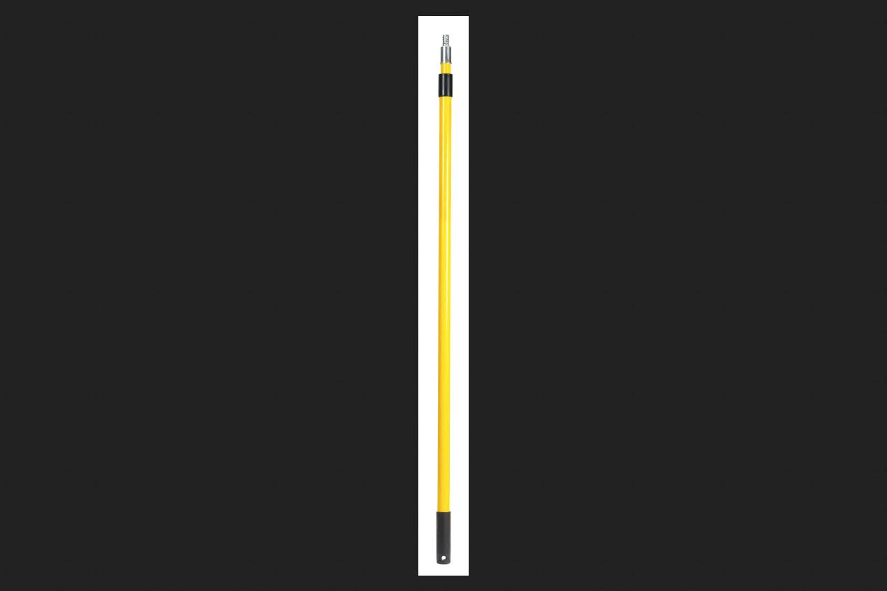 Ace Extension Pole Yellow/Black Fiberglass 6-12 ft. L x 1-1/4 in. Dia.