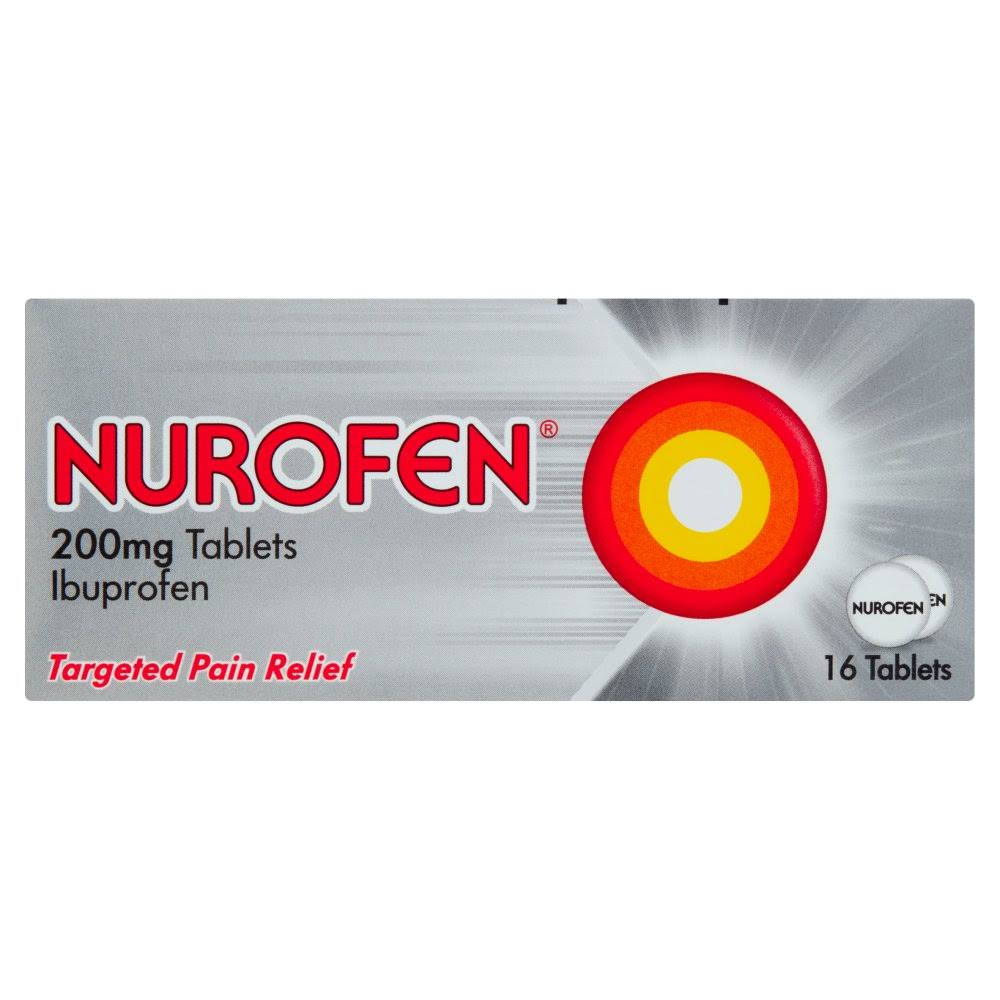 Nurofen Pain Relief Tablets - 16pk