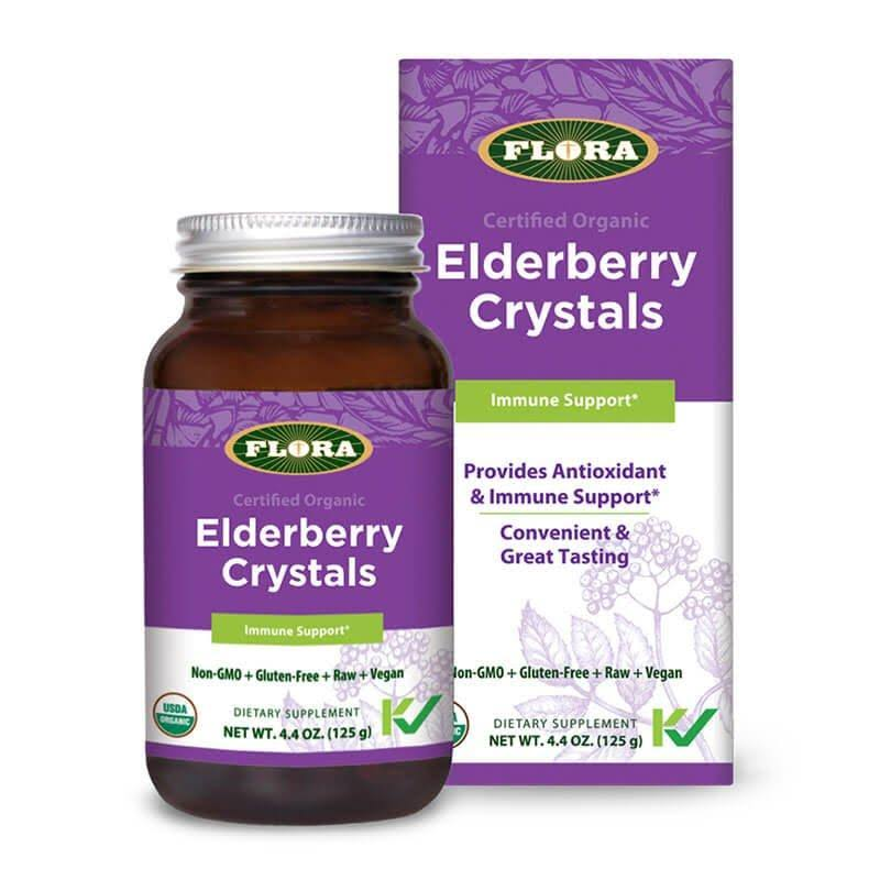 Flora Elderberry Crystals (4.4 oz)