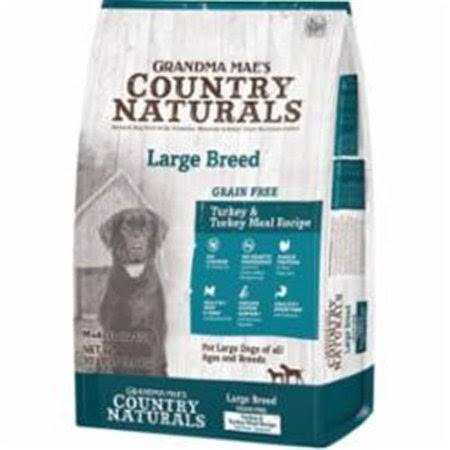 Grandma Maes Country 46000704 Naturals Large Breed Limited Ingredient Grain Free Turkey Dog Food - 14 oz