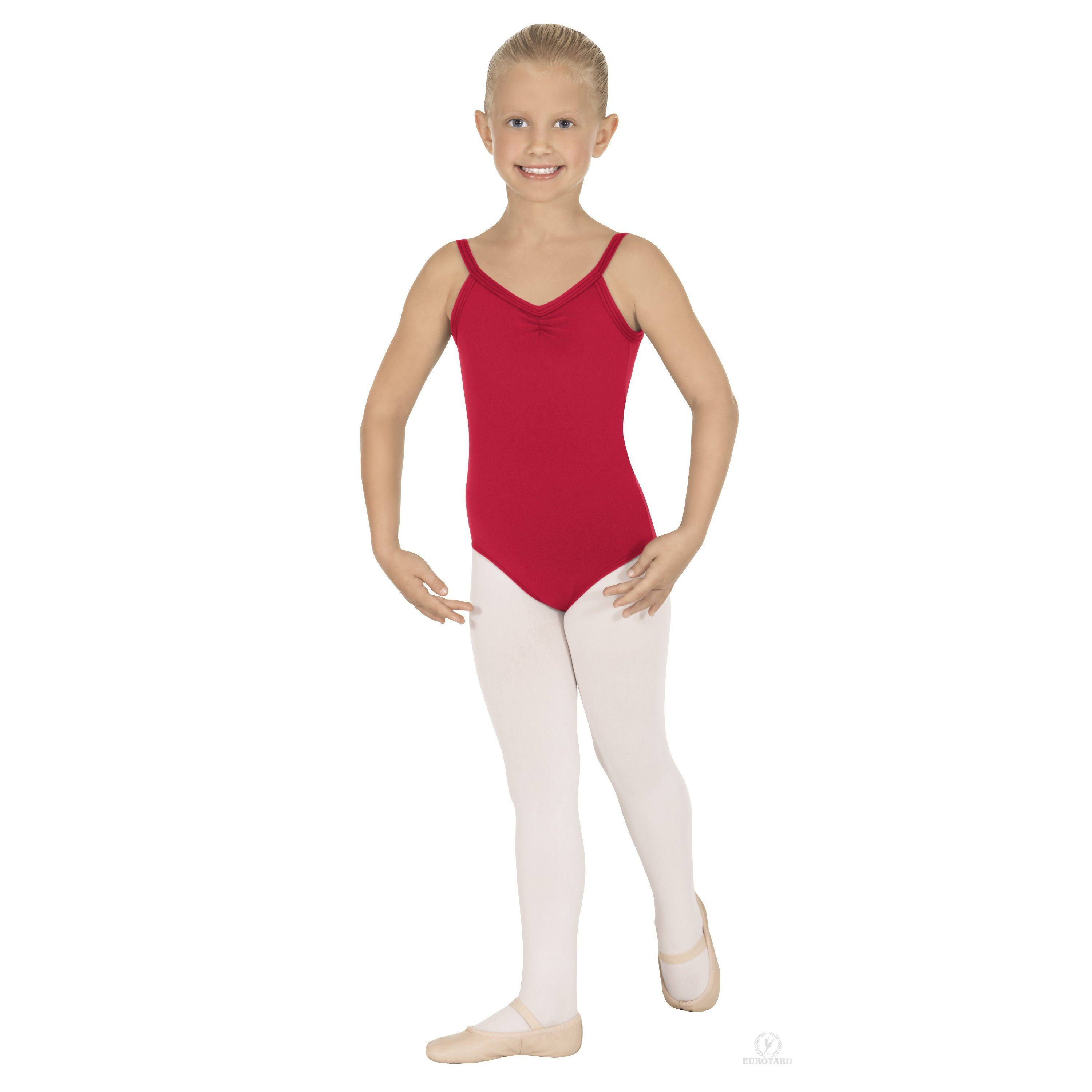 Eurotard Child Camisole V Back Leotard