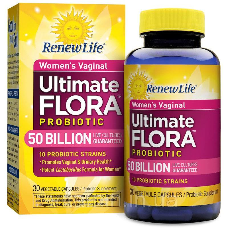Renew Life Women's Vaginal Ultimate Flora Probiotic - 30 Capsules