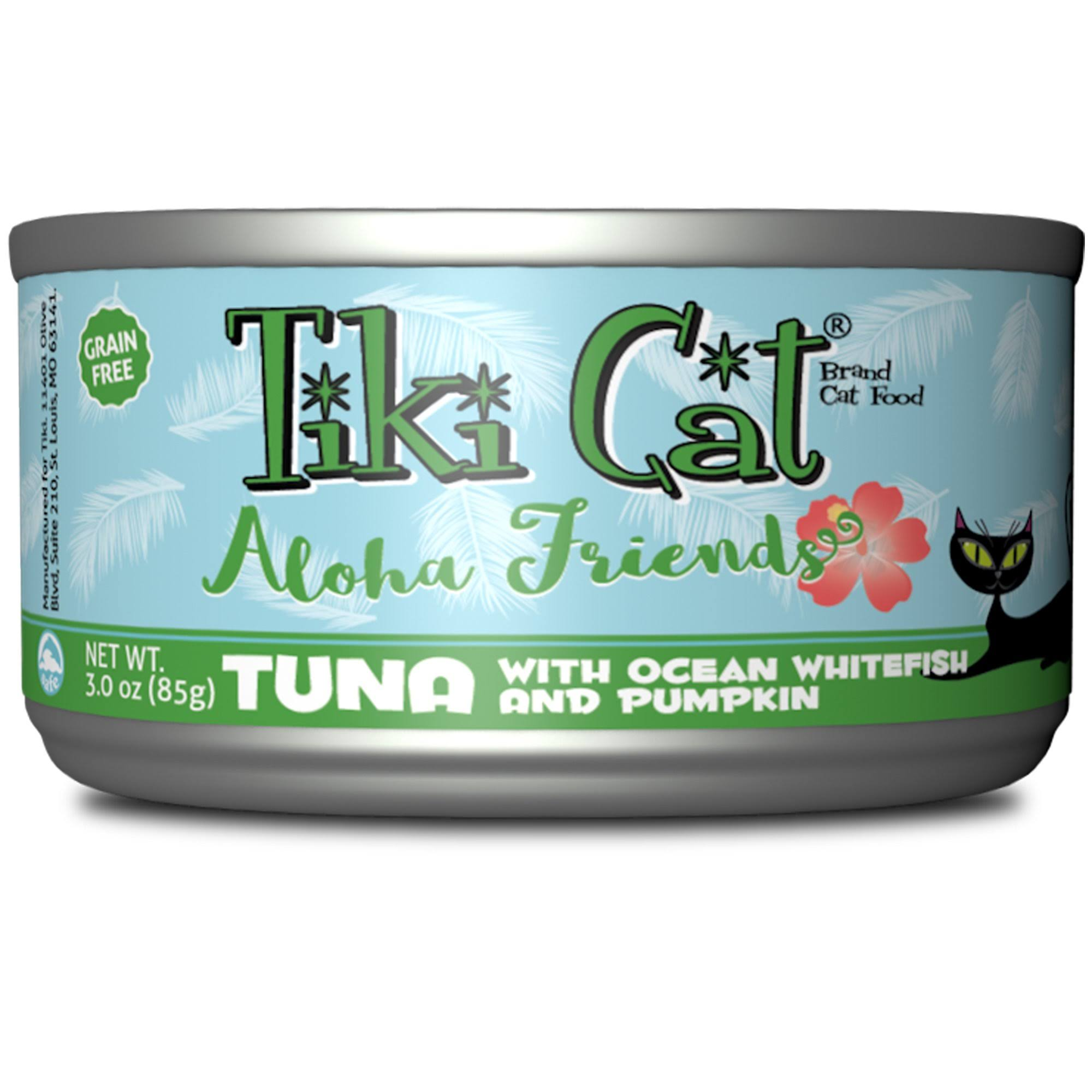 Tiki Cat Aloha Friends Cat Food - Tuna With Ocean Whitefish And Pumpkin