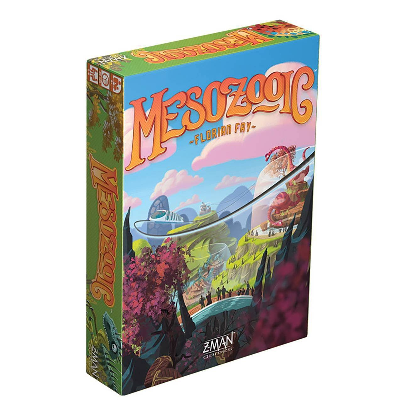 Z-Man Games Mesozooic Board Game