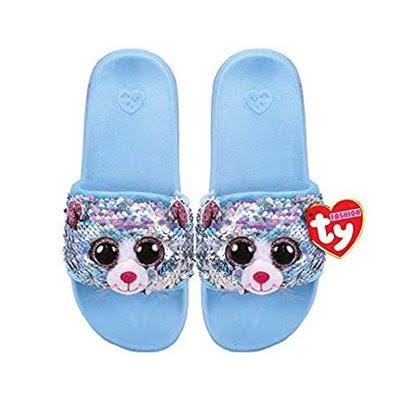 Ty Fashion Whimsy Sequin Slides Medium