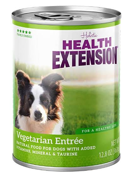 Health Extension Holistic Vegetarian Entree Canned Dog Food - 13 oz, Case of 12