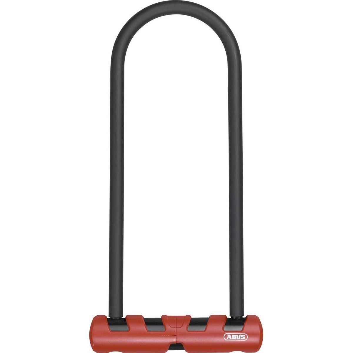 Abus Ultimate 420 U-Lock Black/Orange, 9in