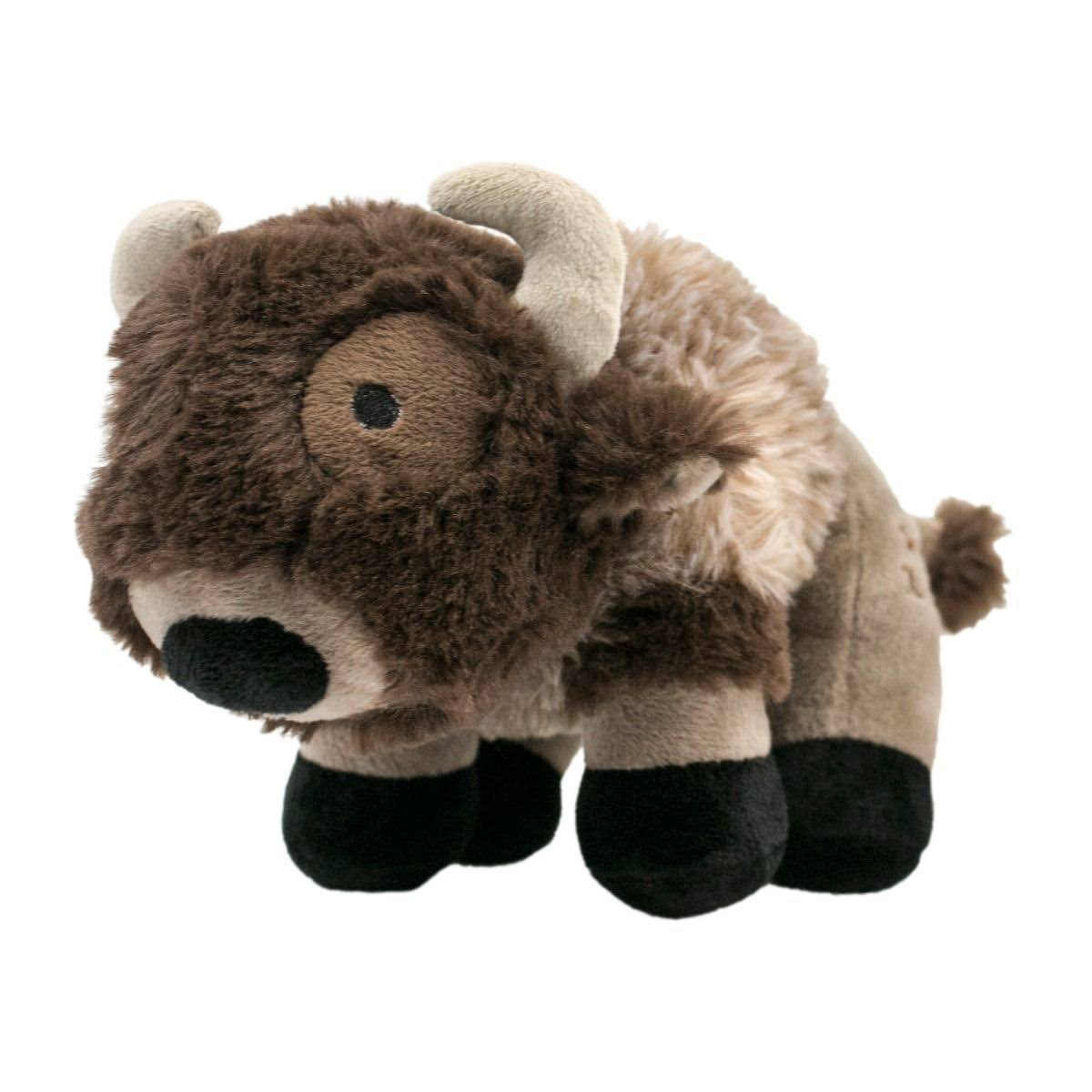 Tall Tails Dog Toy Corduroy Buffalo with Squeaker 9""