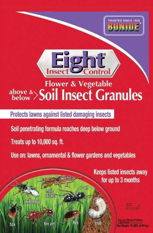 Bonide Eight Insect Granules 10 lbs